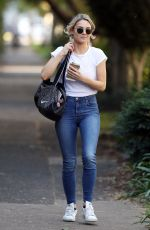 Sam Frost Pictured walking in Sydney