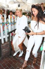 Sofia Richie Celebrates her birthday at The Ivy in LA