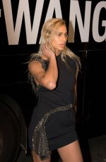 Alice Dellal At Alexander Wang show, Spring Summer 2018, New York Fashion Week