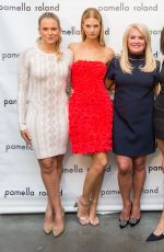 Aly Raisman Attends Pamella Roland Show during NYFW in NYC