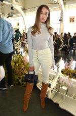 Alycia Debnam-Carey At Ulla Johnson show during New York Fashion Week at Pier 59 in New York City