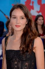 Anaïs Demoustier At 43rd Deauville American Film Festival Opening Ceremony