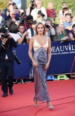 Ana Girardot At Good time, premiere - 43rd Deauville American Film Festival