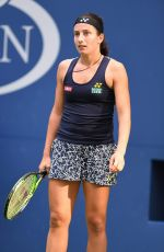 Anastasija Sevastova At 2017 US Open Tennis Championships - Day 7