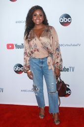 "Andrea Lewis At ""YouTube TV & ABC Tuesday Block Party, New York"