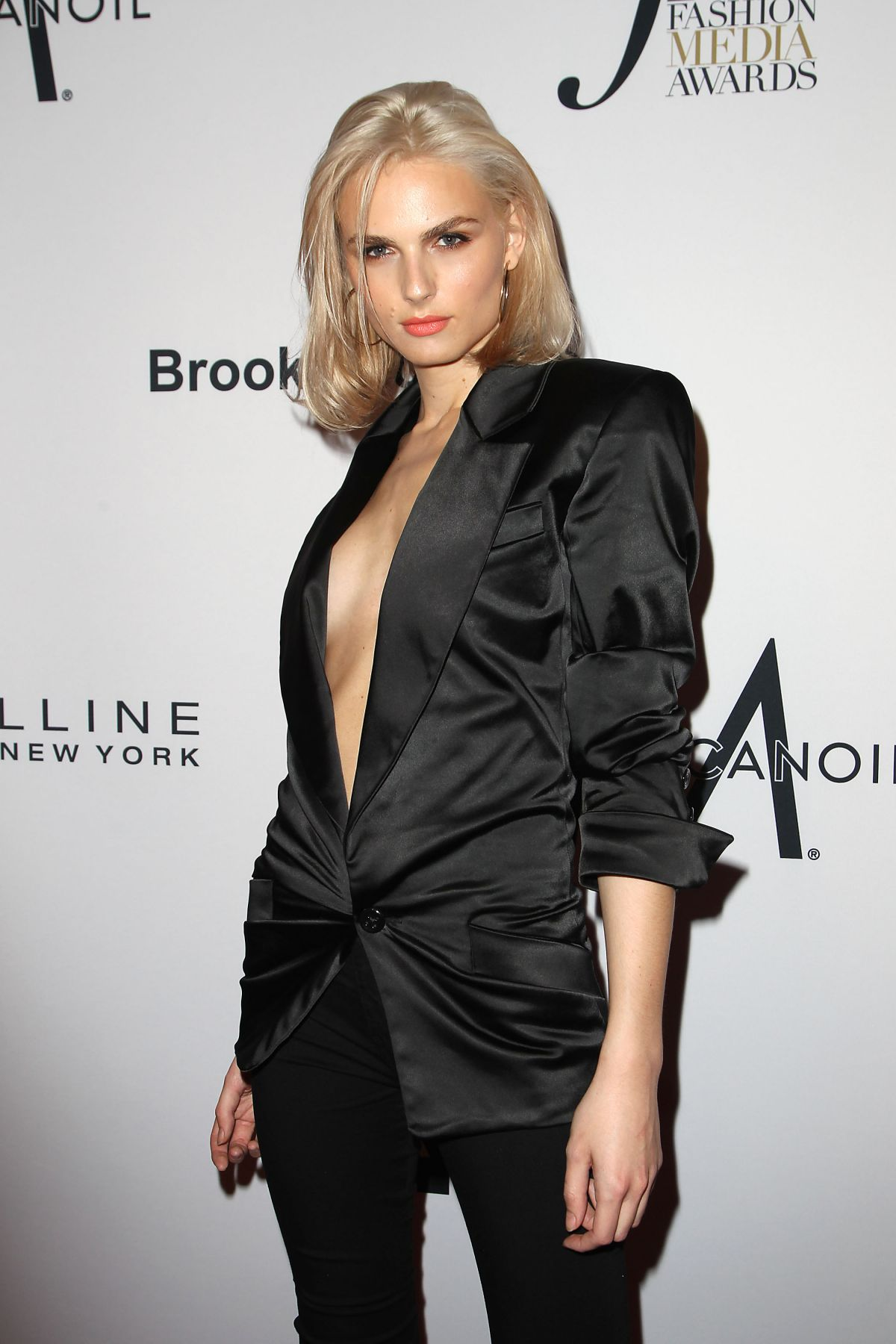 Andreja Pejic At Daily Front Row Fashion Awards Held At The Four Seasons Hotel During New York