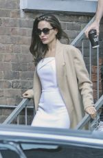 Angelina Jolie Steps out in Toronto, Canada