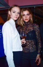 Astrid Baarsma At Moet & Chandon by Public School Launch Celebration at NY Fashion Week