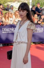 Astrid Bergès-Frisbey At 43rd Deauville American Film Festival Opening Ceremony