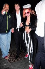 Bella Thorne At Channels her Inner Angel as she Parties the Night away in NYC