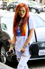 Bella Thorne Goes shopping on Hollywood BLVD with her sister Dani Thorne and a friend