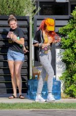 Bella Thorne Out & About with a friend in LA