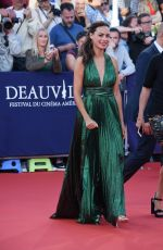 "Berenice Bejo At ""Good Time"" premiere during 43rd Deauville Americal Film Festival in France"