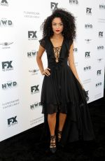 Bianca A. Santos At Vanity Fair and FX Network Pre-Emmy party, Los Angeles