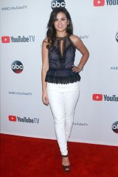 "Caila Quinn At ""YouTube TV & ABC Tuesday Block Party, New York"