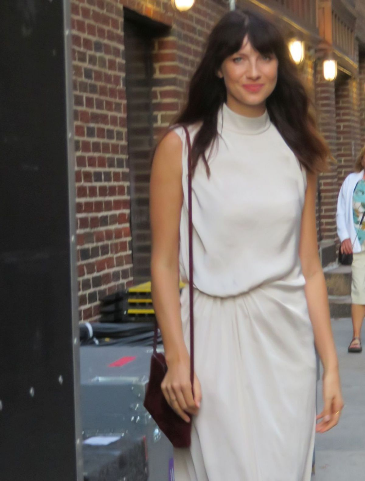 Caitriona Balfe Attends The Late Show With Stephen Colbert In Nyc Celebzz