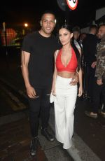 Cally Jane Beech and Luis Morrison at the 3 Big Dogs Vodka Launch at Bijou in Manchester