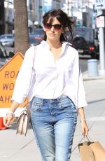 Camilla Belle Grabs some Sprinkles cupcakes to-go in Beverly Hills