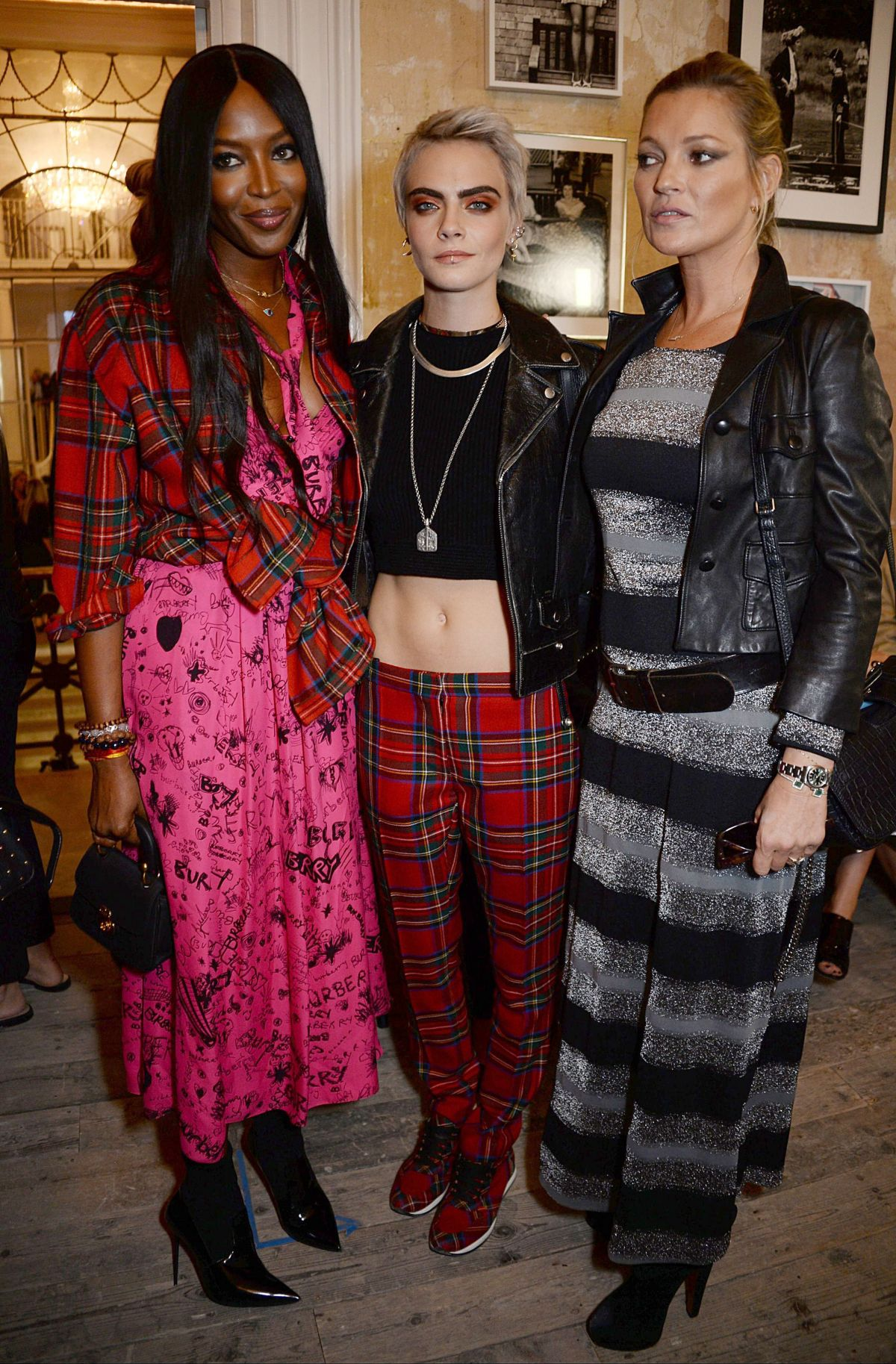 Cara delevingne at burberry show front row spring summer 2018 london fashion week london uk - Burberry fashion show ...