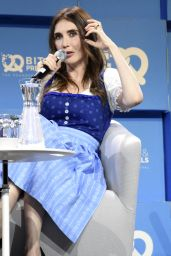 Carice van Houten At Bits & Pretzels Founders Festival at ICM–Internationales Congress Center München in Munich