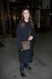 Carice van Houten Leaves her Hotel Charles for the Bits & Bretzel
