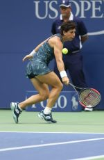 Carla Suarez Navarro At 2017 US Open Tennis Championships - Day 7
