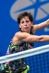 Carla Suarez Navarro During day three at 2017 WTA Wuhan Open in Wuhan