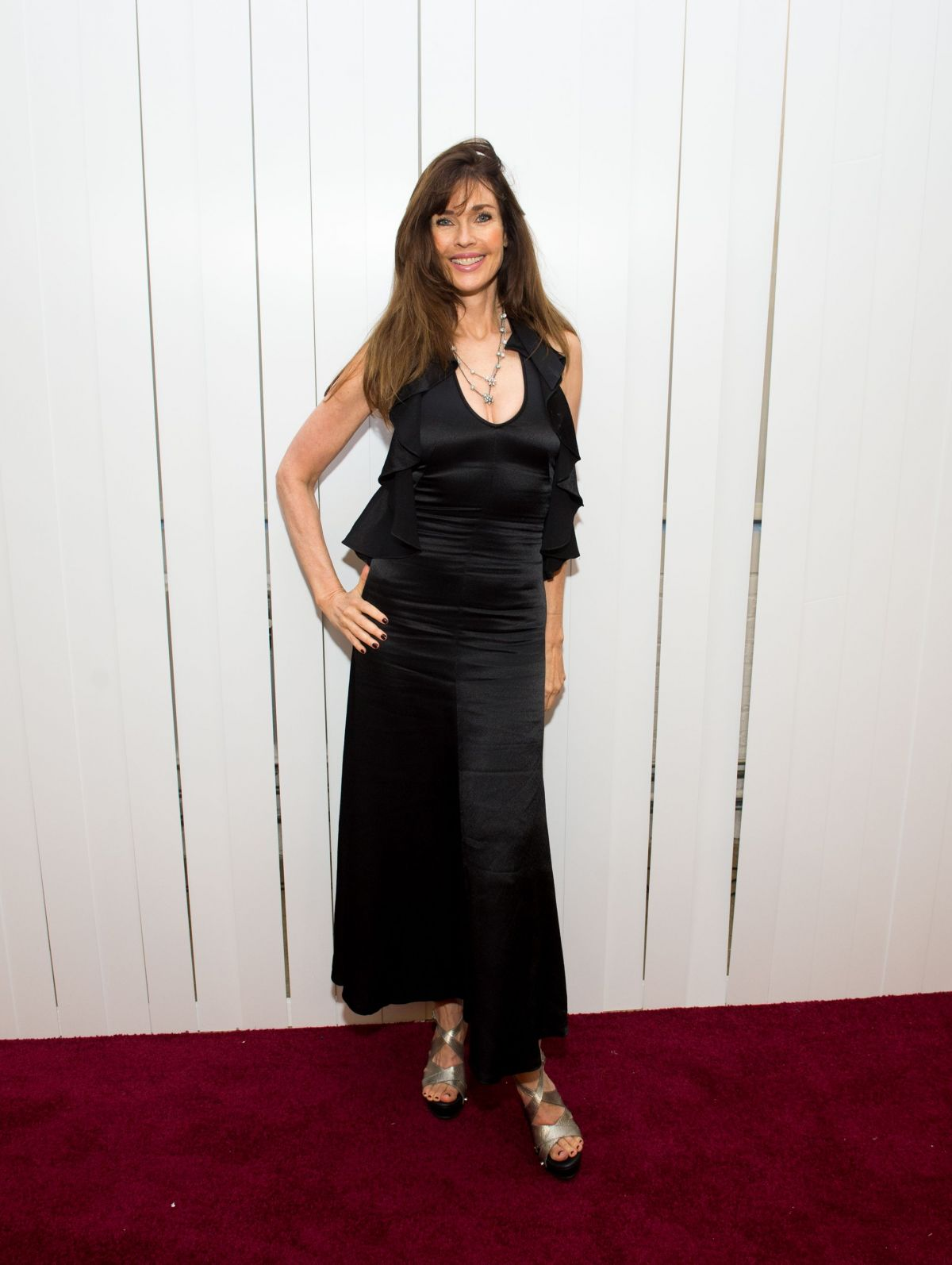 Carol Alt At Jill Stuart show, Spring Summer 2018, New York Fashion Week