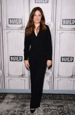 Caroline Dhavernas At Build Series for