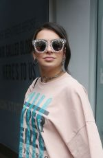 Charli XCX At Capital FM, Global House in London