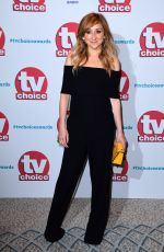 Charlotte Bellamy At TV Choice Awards at The Dorchester in London