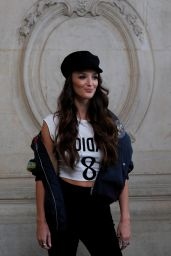 Charlotte Le Bon At Christian Dior Paris Fashion Show