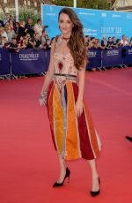 Charlotte Lebon At 43rd Deauville American Film Festival in France