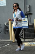 Cheryl Burke Is seen as she heads out after a dance work out in Los Angeles