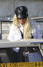 Christina Aguilera and boyfriend Matthew Rutler spotted in Venice, Italy