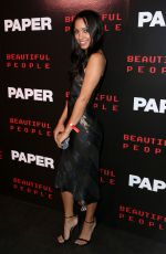Corinne Foxx At Paper Magazine Beautiful People Issue release party, Spring Summer 2018, New York Fashion Week