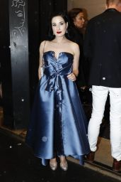 Dita Von Teese At Alexis Mabille show, Front Row, Spring Summer 2018, Paris Fashion Week, France