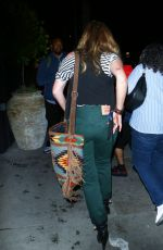 Drea De Matteo Attending Hollywood block party