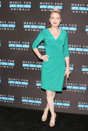 Elaine Hendrix At Mercy For Animals Annual Hidden Heroes Gala, New York