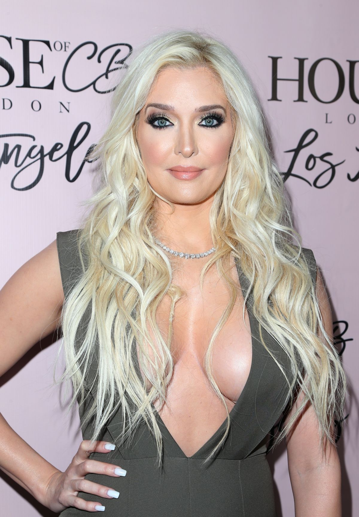 Erika Jayne At House Of Cb Launch In West Hollywood Celebzz