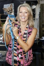 """Gillian Taylforth At The Harley Street Skin Clinic, """"Back on Track"""", host a go -kart race day at The Daytonna Race track in London"""
