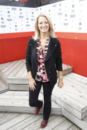"Gillian Taylforth At The Harley Street Skin Clinic, ""Back on Track"", host a go -kart race day at The Daytonna Race track in London"
