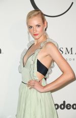 Ginta Lapina At UNITAS Gala, Spring Summer 2018, New York Fashion Week