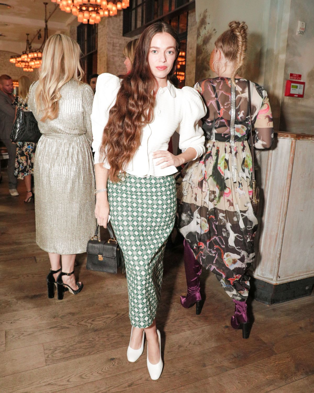 Hailey Gates At W Magazine's 'It Girl' luncheon, Spring