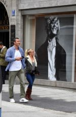Hayden Panettiere Out in Munich Germany