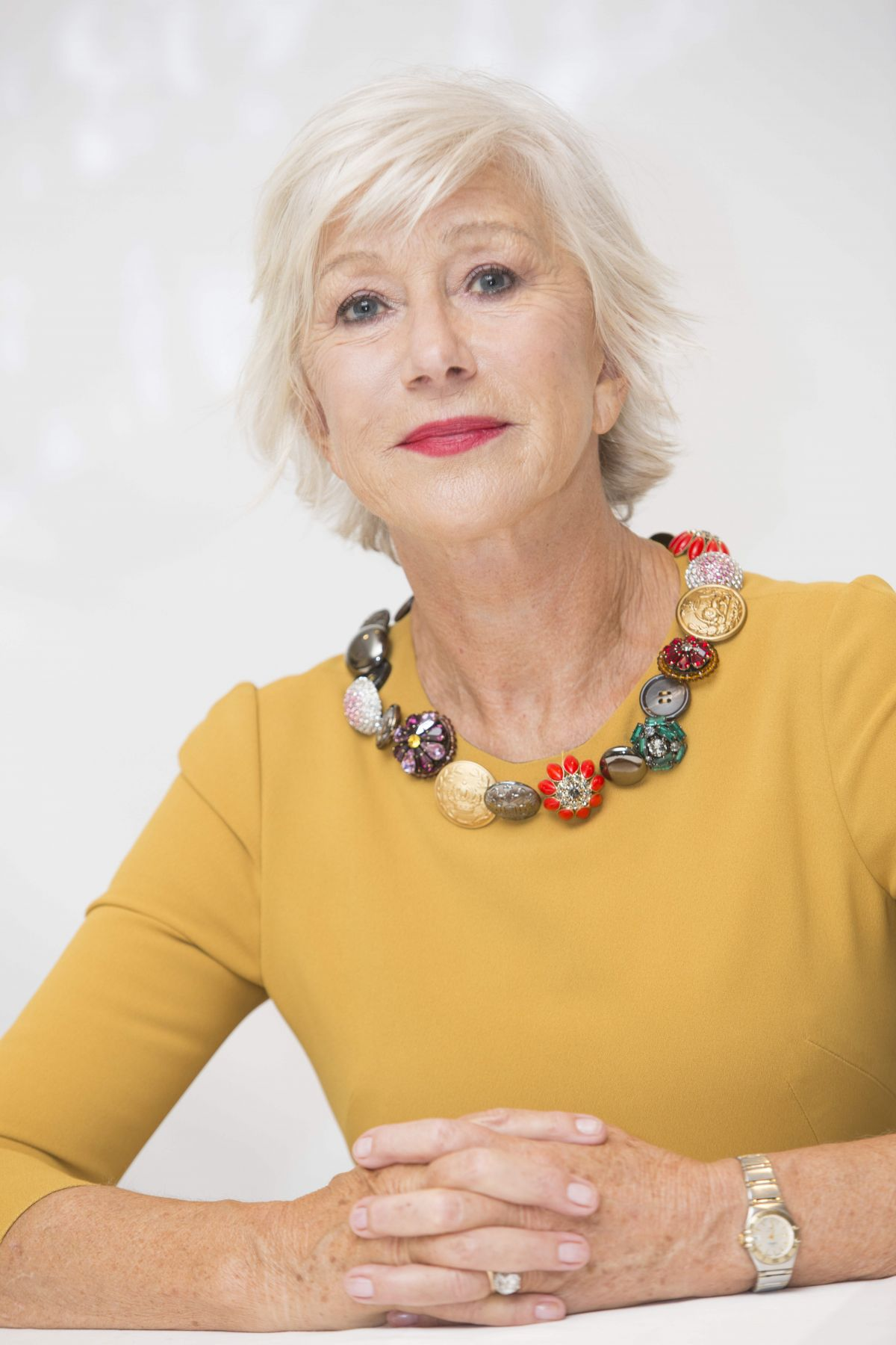 Helen Mirren Attends a Press Conference at TIFF - Toronto ...