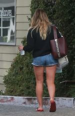 Hilary Duff Out in Studio City