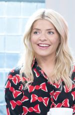 Holly Willoughby At Sunday Brunch TV Show in London
