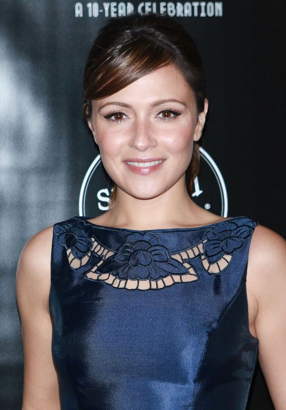 Italia Ricci At Toast, the 10-Year Anniversary Celebration of Stupid Cancer in NYC