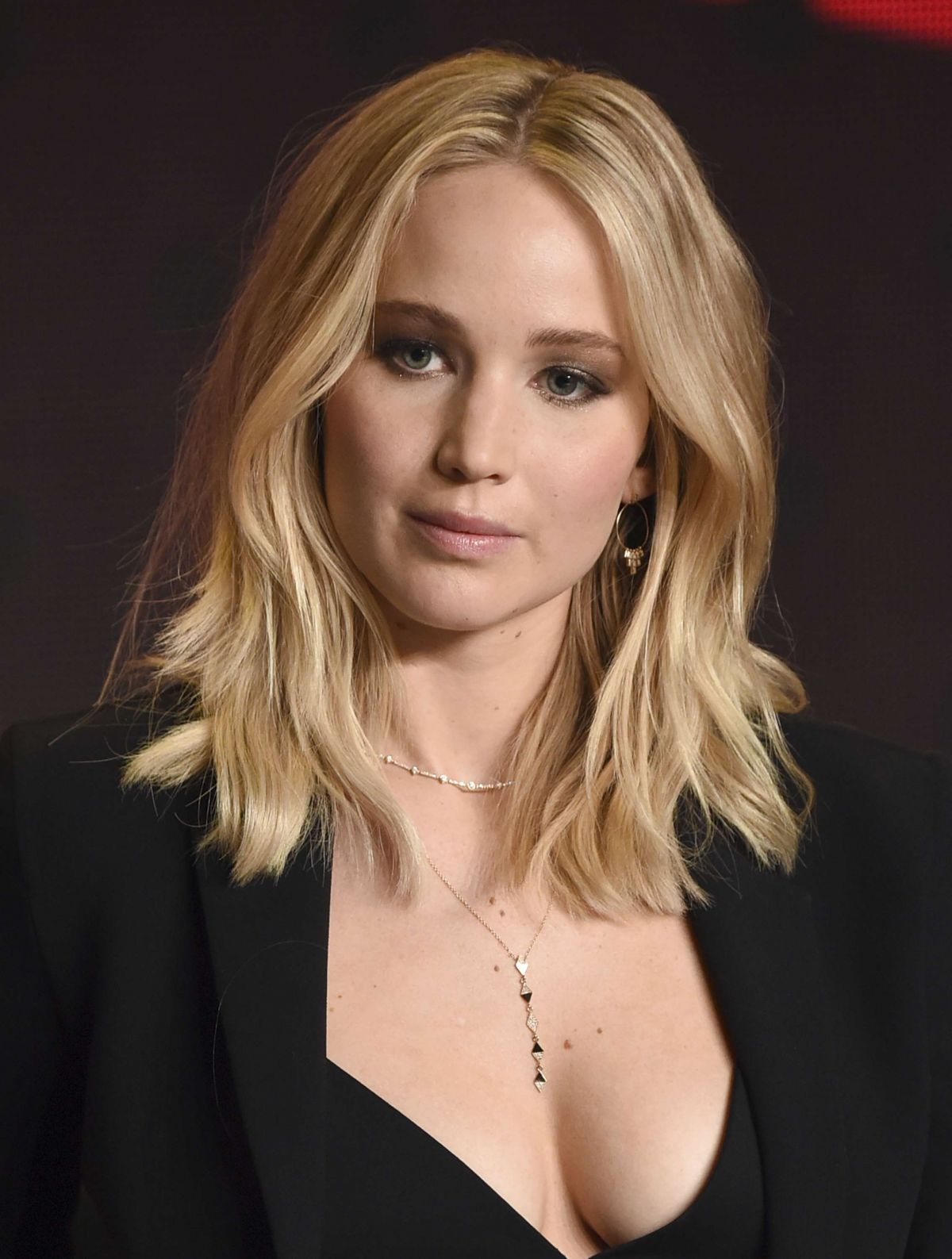 Jennifer Lawrence At 'mother!' press conference at the ... Jennifer Lawrence